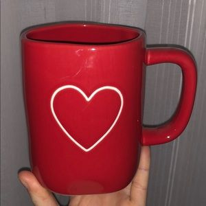 Rae Dunn Red Heart ❤️ mug